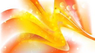 Abstract Orange and White Blur Lights Background Image