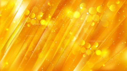 Abstract Orange and Yellow Blur Lights Background