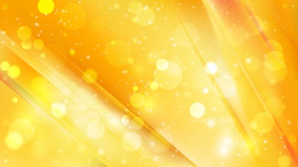 Abstract Orange and Yellow Blurry Lights Background