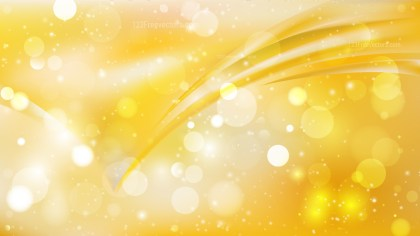 Abstract Orange and Yellow Blurred Lights Background Image