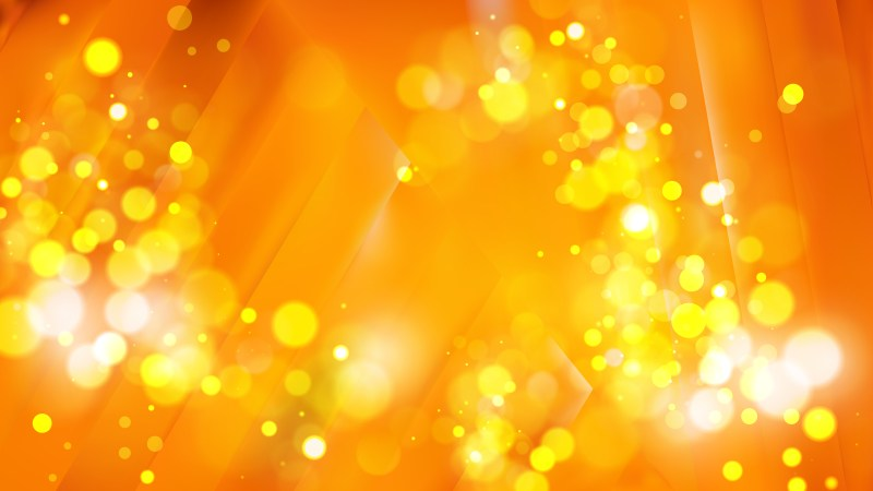 Abstract Orange and Yellow Defocused Background Image