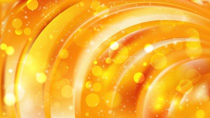 Abstract Orange and Yellow Bokeh Defocused Lights Background Image