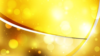 Abstract Orange and Yellow Bokeh Background Image