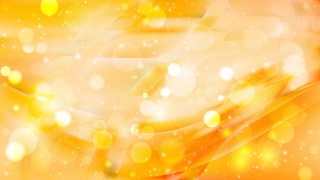 Abstract Orange and Yellow Bokeh Lights Background Image