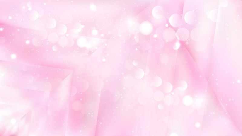 Abstract Pastel Pink Lights Background Image