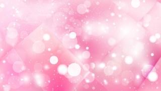 Abstract Pastel Pink Defocused Lights Background Image