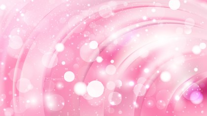 Abstract Pastel Pink Blurry Lights Background Design