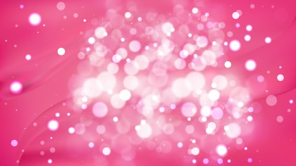 Abstract Pink Defocused Background Design