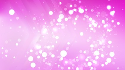 Abstract Pink Defocused Lights Background Design