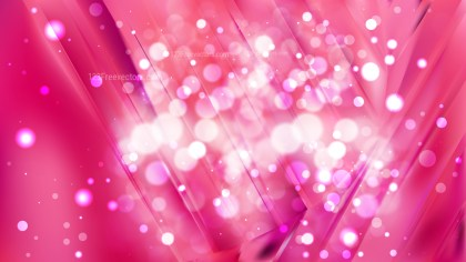 Abstract Pink Blurred Bokeh Background Design