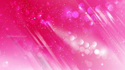 Abstract Pink Bokeh Defocused Lights Background Design