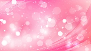 Abstract Pink Blurred Lights Background Design