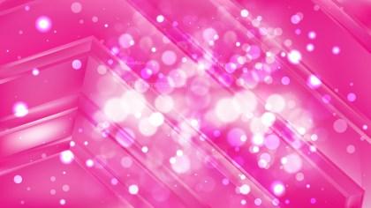 Abstract Pink Defocused Lights Background Design