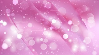 Abstract Pink Bokeh Lights Background