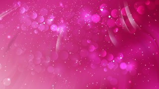Abstract Pink Blurry Lights Background