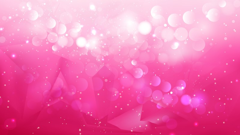 Abstract Pink Defocused Lights Background