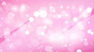 Abstract Pink Bokeh Lights Background Vector