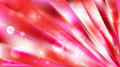 Abstract Pink Blur Lights Background Vector