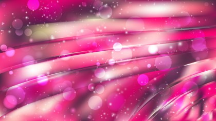 Abstract Pink Lights Background Vector