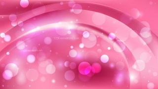 Abstract Pink Blurred Bokeh Background Vector