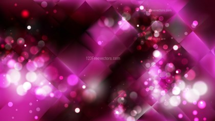 Abstract Pink and Black Blurred Bokeh Background Vector