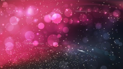 Abstract Pink and Black Blur Lights Background Image