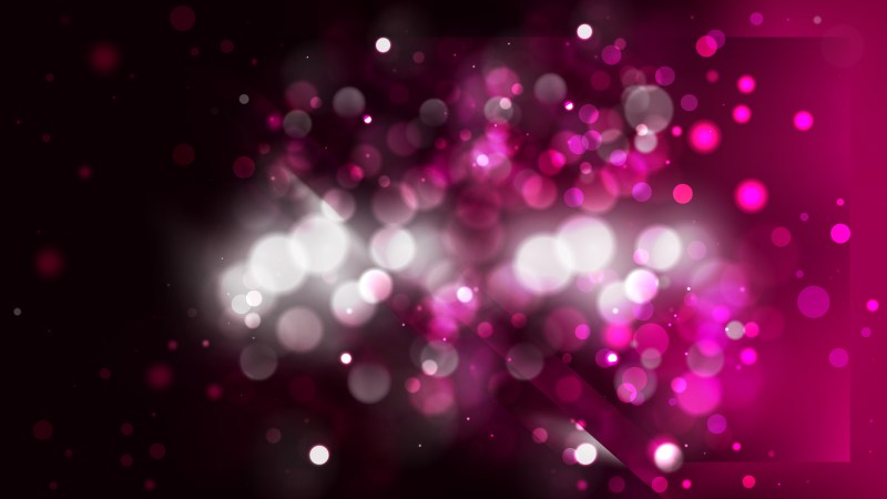 Abstract Pink and Black Blurry Lights Background Image