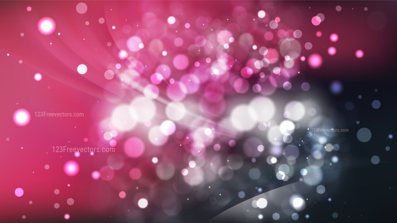 Abstract Pink and Black Lights Background Image