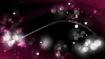 Abstract Pink and Black Blur Lights Background Design