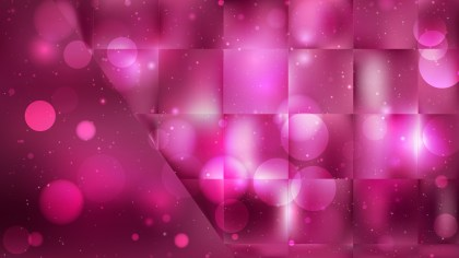 Abstract Pink and Black Blurry Lights Background Design