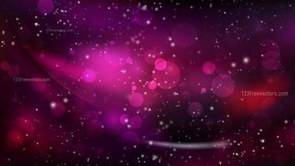 Abstract Pink and Black Bokeh Defocused Lights Background Design