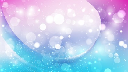 Abstract Pink and Blue Lights Background Design