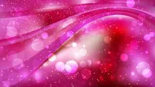 Abstract Pink and Red Bokeh Defocused Lights Background Design