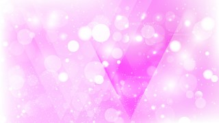 Abstract Pink and White Bokeh Lights Background