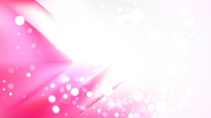 Abstract Pink and White Lights Background Vector