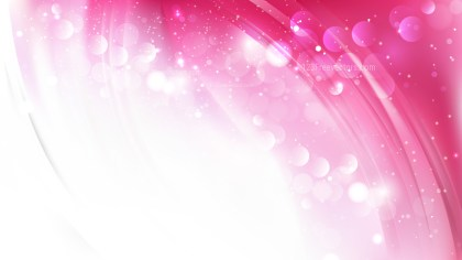 Abstract Pink and White Blur Lights Background Vector