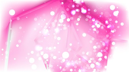 Abstract Pink and White Bokeh Background Image