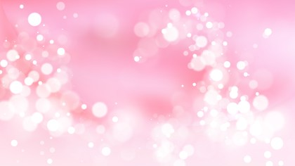 Abstract Pink and White Lights Background Image