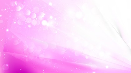 Abstract Pink and White Blurred Lights Background Image