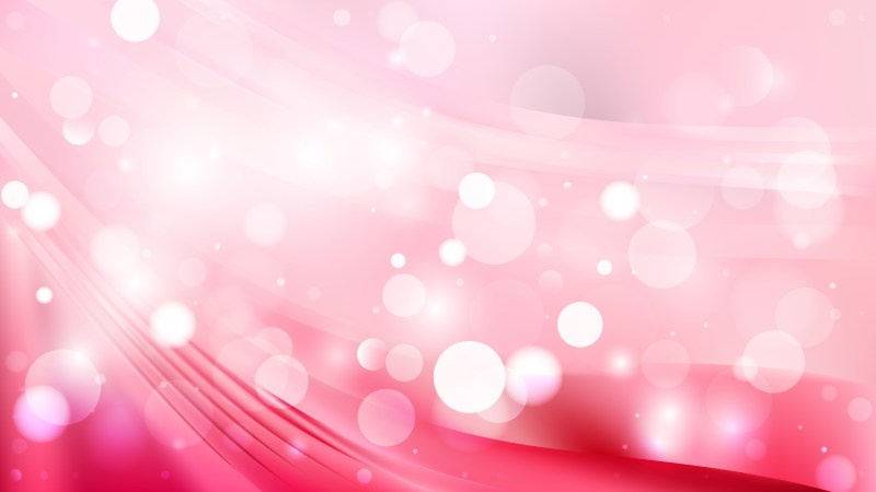 Abstract Pink and White Defocused Lights Background Image
