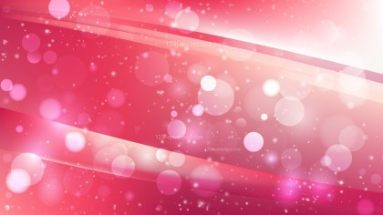 Abstract Pink and White Defocused Background Design