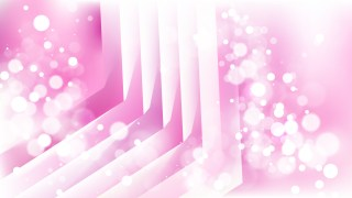 Abstract Pink and White Blurry Lights Background Design
