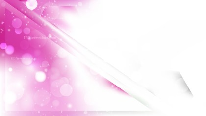 Abstract Pink and White Bokeh Defocused Lights Background Design