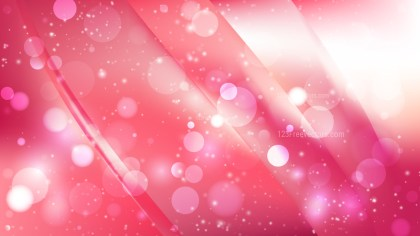 Abstract Pink and White Blurry Lights Background
