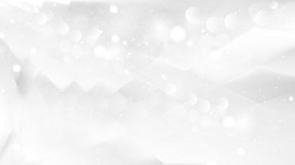 Abstract Plain White Bokeh Background