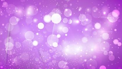 Abstract Purple Bokeh Defocused Lights Background
