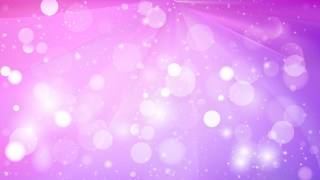 Abstract Purple Lights Background Vector