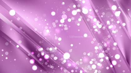 Abstract Purple Blurred Bokeh Background Vector