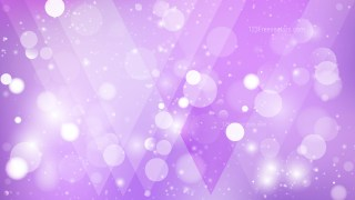 Abstract Purple Bokeh Background Vector