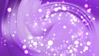 Abstract Purple Bokeh Lights Background Image